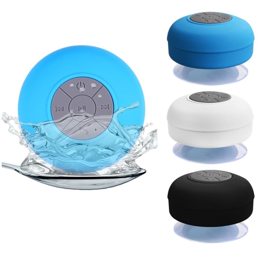 lautsprecher sound box bluetooth wasserdicht f r dusche bad mit saugnapf bunt ebay. Black Bedroom Furniture Sets. Home Design Ideas